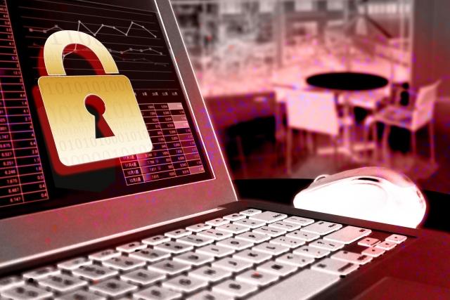 セキュリティーソフトを導入したパソコン
